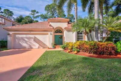 Palm Beach Gardens Single Family Home For Sale: 431 Woodview Circle