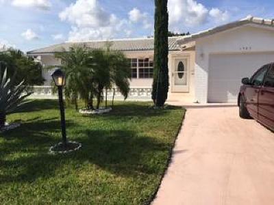 Boynton Beach Single Family Home For Sale: 1503 SW 20th Street