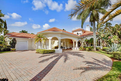 Jupiter Single Family Home For Sale: 18599 SE Palm Island Lane