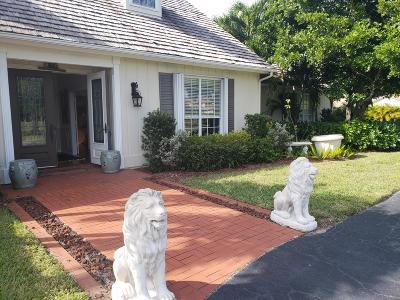 Palm Beach Gardens Single Family Home For Auction: 8373 Kelso Drive