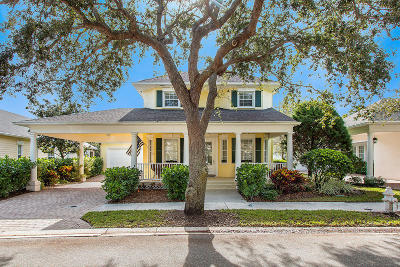 Jupiter Single Family Home Contingent: 316 Sweet Bay Circle