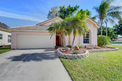 Lake Worth Single Family Home For Sale: 7320 Ashley Shores Circle