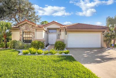Boynton Beach Single Family Home For Sale: 8840 Boatswain Drive