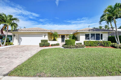 Boca Raton Single Family Home For Sale: 1299 SW 13th Drive