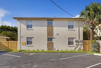 Lake Worth Multi Family Home For Sale: 715 Washington Avenue #1