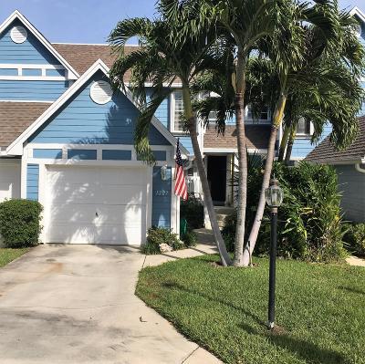 Jupiter Townhouse For Sale: 1227 Ocean Dunes Circle