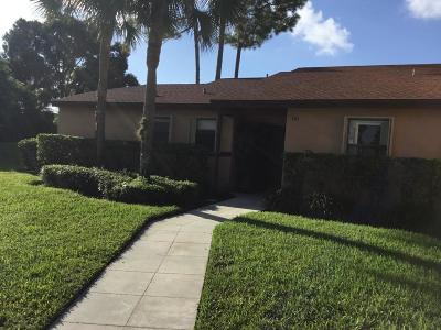 Royal Palm Beach Condo For Sale: 101 Lakeview Drive E #100-1