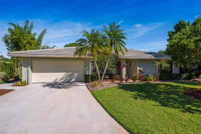 Palm City Single Family Home For Sale: 1978 SW Heronwood Road