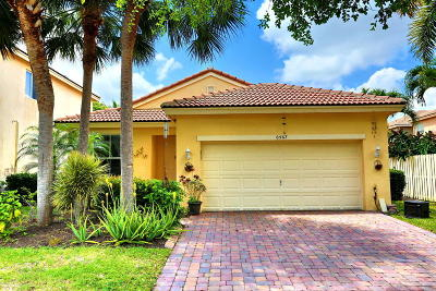 Lake Worth Single Family Home For Sale: 6567 Jacques Way