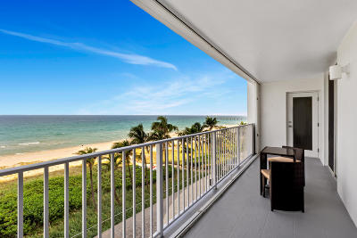 Palm Beach County Condo For Sale: 3000 S Ocean Boulevard #5020