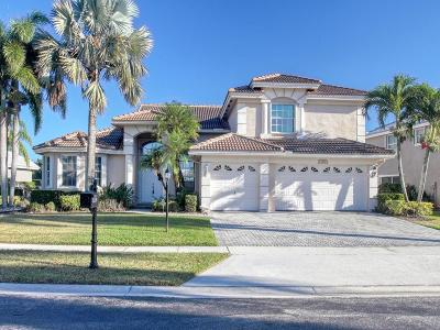 Boca Raton Single Family Home For Sale: 12199 Rockledge Circle