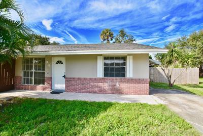 Stuart Single Family Home For Sale: 95 SE Millwood Terrace
