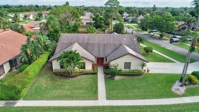 Boca Raton Single Family Home For Sale: 7499 San Sebastian Drive