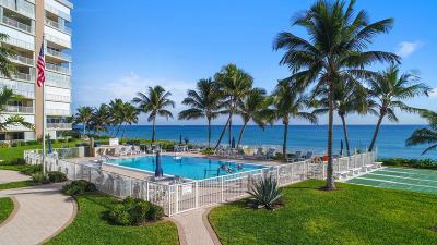 Highland Beach Condo For Sale: 3101 S Ocean Boulevard #106