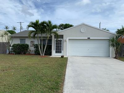 Stuart Single Family Home For Sale: 5711 SE Wilsie Drive