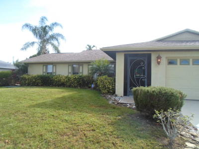 Port Saint Lucie Single Family Home For Sale: 190 SW Ray Avenue