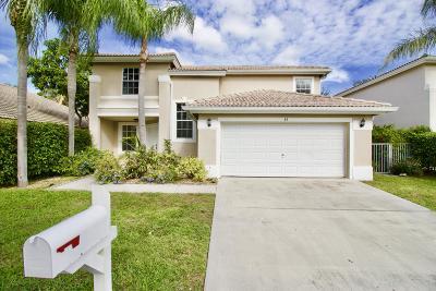 Boynton Beach Single Family Home For Sale: 83 Citrus Park Lane