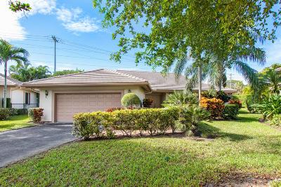 Boynton Beach Single Family Home For Sale: 4985 Pine Tree Drive