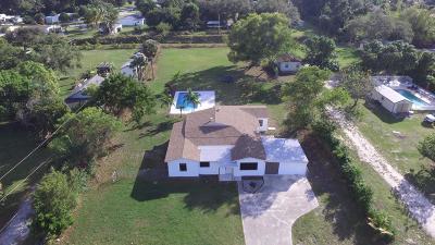 West Palm Beach Single Family Home For Sale: 2792 Melaleuca Drive