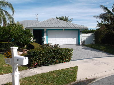 Jupiter Single Family Home For Sale: 801 Summerwood Drive