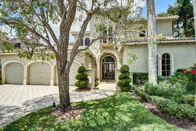 Boca Raton Single Family Home Contingent: 9661 Bridgebrook Drive