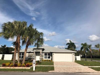 West Palm Beach Single Family Home For Sale: 4008 Shelley Road