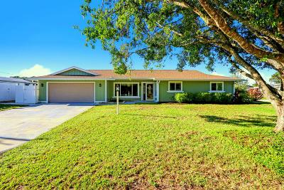 Port Saint Lucie Single Family Home For Sale: 682 SE Delancey Lane