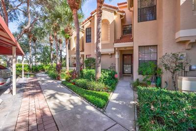 Palm Beach Gardens Townhouse For Sale: 2320 Treasure Isle Drive #A67 + Do