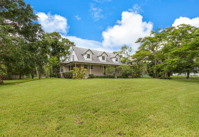 Loxahatchee Single Family Home For Sale: 15212 64th Place