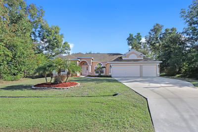 Port Saint Lucie Single Family Home For Sale: 5247 NW Gamma Street