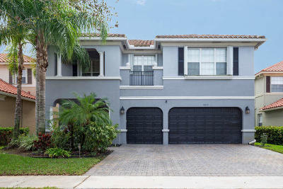 Boynton Beach Single Family Home For Sale: 9837 Cobblestone Creek Drive