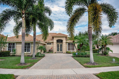 Boynton Beach Single Family Home For Sale: 6690 Jog Palm Drive