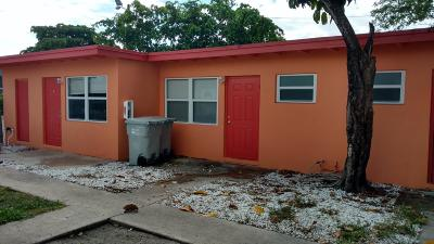 Pompano Beach Rental For Rent: 851 NW 5 Avenue #1-4
