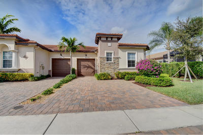 Delray Beach Single Family Home Contingent: 14812 Barletta Way