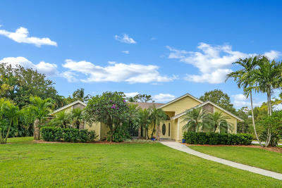 Jupiter Single Family Home Contingent: 17739 Alexander Run Road
