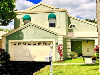 Boca Raton Single Family Home For Sale: 21391 Sawmill Court