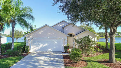 Port Saint Lucie Single Family Home For Sale: 536 SW Cyrilla Trail