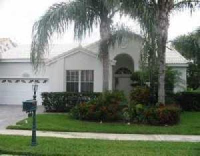 Boca Raton Single Family Home For Sale: 23340 Alora Drive