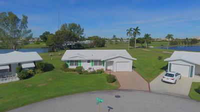 Boynton Beach Single Family Home For Sale: 599 SW Golf Drive