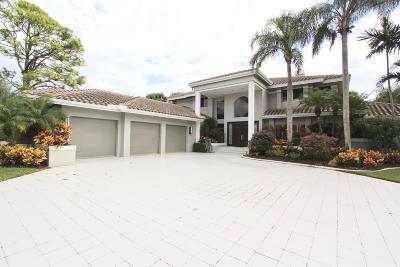 Delray Beach Single Family Home For Sale: 6241 Hollows Lane