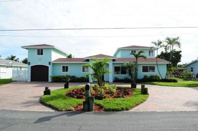 Boynton Beach Single Family Home For Sale: 3138 Chapel Hill Boulevard