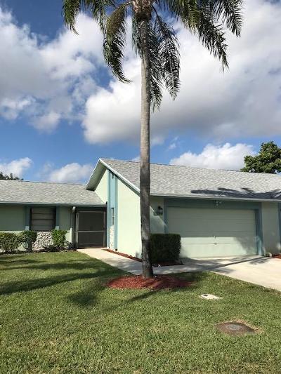Boca Raton Single Family Home For Sale: 23329 SW 61st Avenue #B