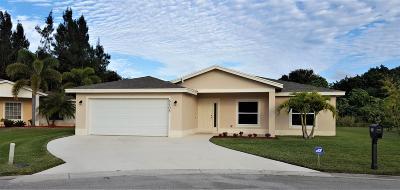 Port Saint Lucie Single Family Home For Sale: 6408 Las Palmas Way