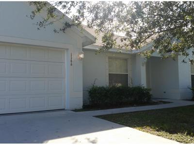 Port Saint Lucie Single Family Home For Sale: 1166 SW Abbey Avenue