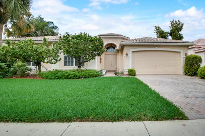 Boynton Beach Single Family Home For Sale: 11396 Ohanu Circle