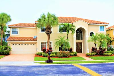 Boca Raton Single Family Home For Sale: 10645 Wheelhouse Circle