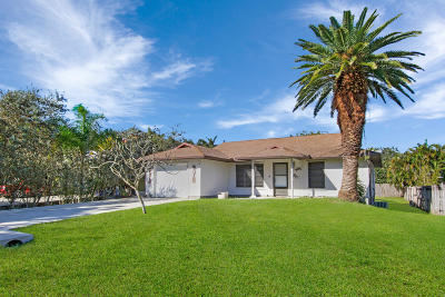Stuart Single Family Home For Sale: 3755 SE Middle Street