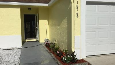 Boca Raton Single Family Home For Sale: 18769 Cloud Lake Circle