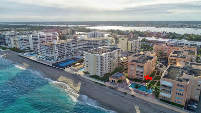 Palm Beach Condo For Sale: 3520 S Ocean Boulevard #A203