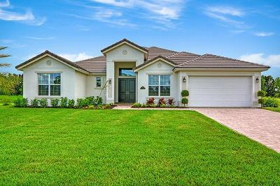 Vero Beach Single Family Home For Sale: 4725 Four Lakes Circle SW
